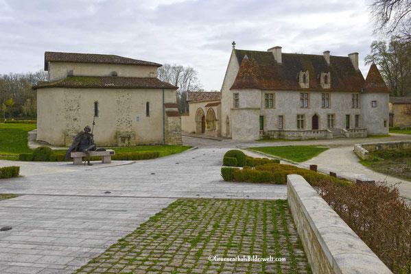 le Prieuré de Cayac Pilgerstation auf dem Weg nach Compostella.