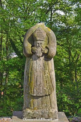 """Nothelfer """"Heiliger Dionysius"""" er wird in allen Nöten angefleht besonders in Gewissensbissen, gegen teufliche Besessenheit und Kopfschmerzen"""