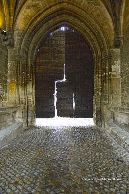 Eingang zum Papstpalast