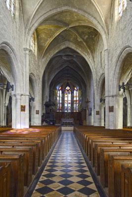 Innenraum von Eglise Notre-Dame-des-Vertus