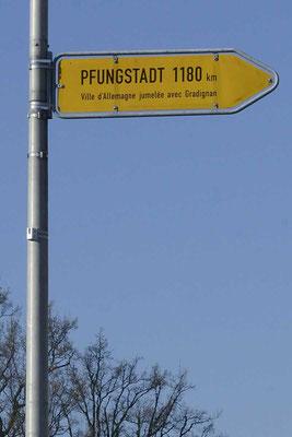 Nach Pfungstadt 1180 KM