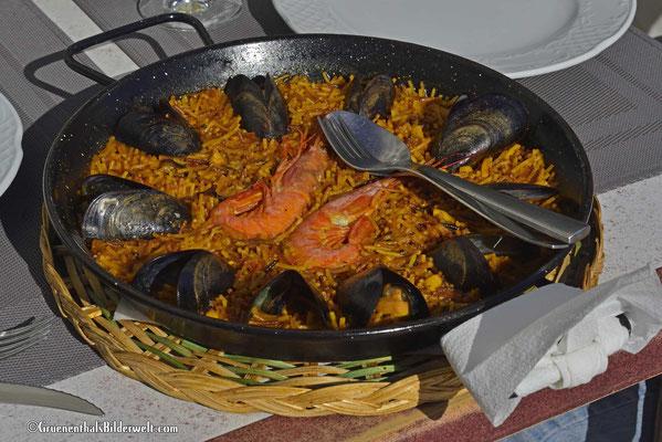 Peniscola; Fideua als Hauptspeise