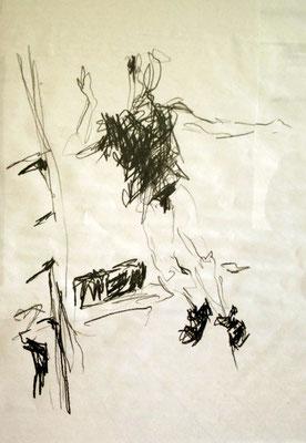 Graphit-Zeichnung g1