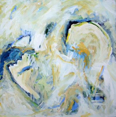 Acrylmalerei: Kreuzungen (organisch) IV