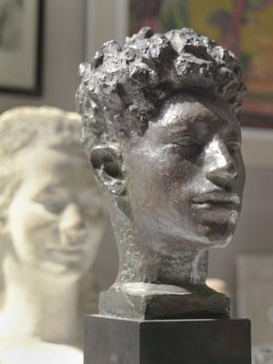 Büste Alberto Giacometti, Bronze, 1920