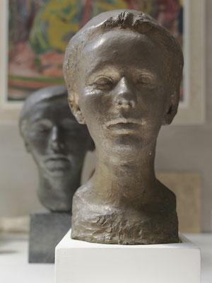 Büste Lydia Thalmann-Amiet, Bronze, 1920