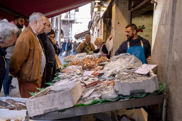 Venedig - Mercato del Pesce al Minuto