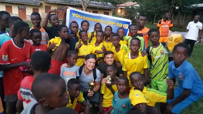 Unsere Red Lions holen den ersten Platz beim You4Ghana Cup