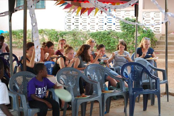 Sommerfest im Waisenhaus