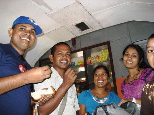 im Zug nach Kandy