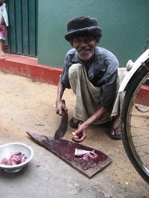 Fischverkäufer in Galle