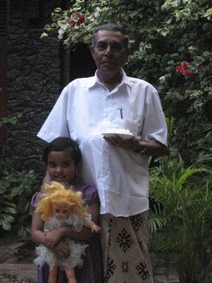 Venuji und ihr Opa