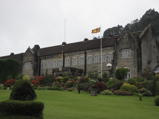 The Hill Club in Nuwara Eliya