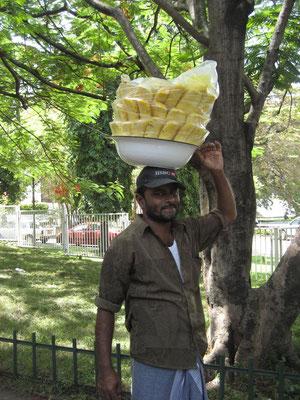 Ananas Pickles Verkäufer