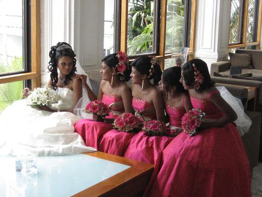 Hochzeit im Hotel Mount Lavinia