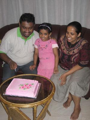 Kein Geburtstag ohne eine blumige Torte