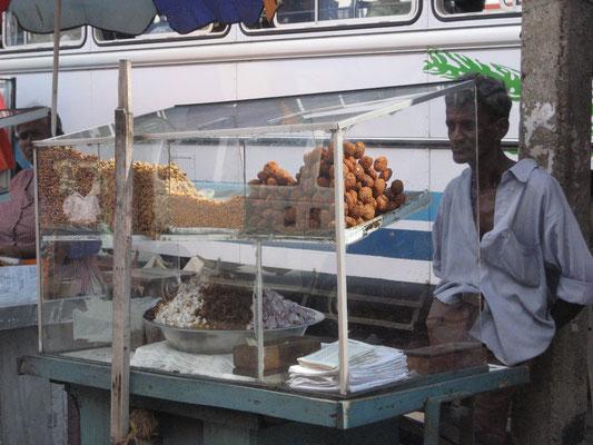 Snack Verkäufer in Colombo
