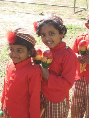 Venuji auf einem Schulfest