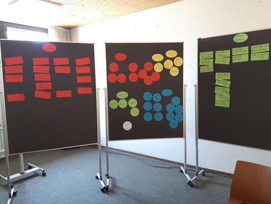 Mehrere Themen konnten im Rahmen eines Workshops behandelt werden.