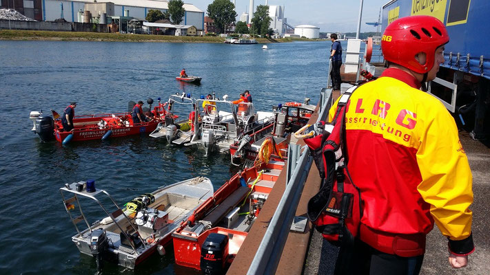 Boote in Bereitstellung