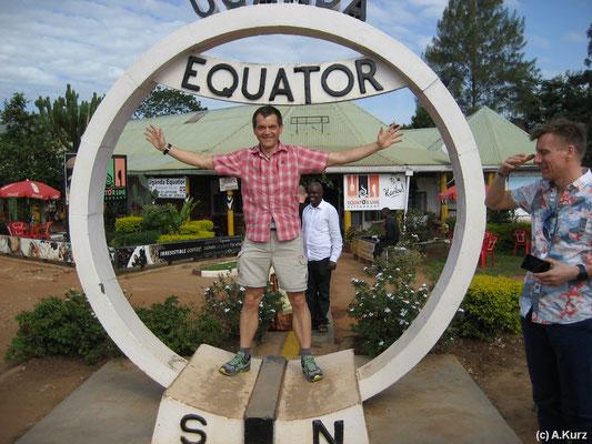 Am Äquator - At the equator