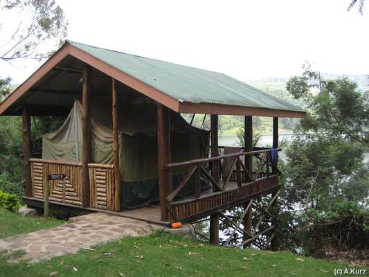 Unser Zelt - Our tent