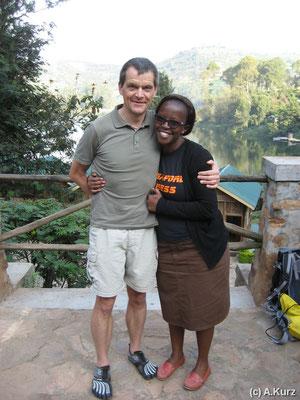 Rita, unser Compassion Mitarbeiterin - Rita, our Compassion Staff