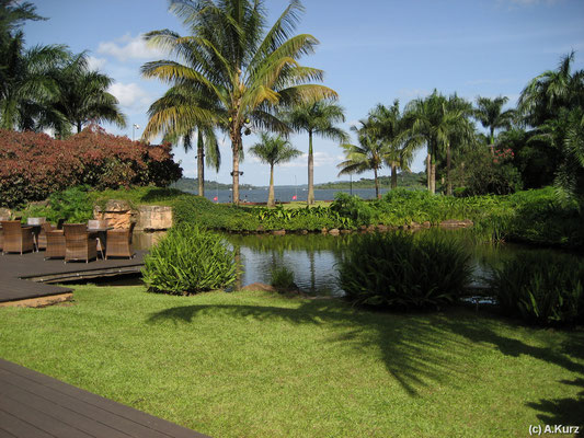 Ein Blick von unserem Hotel - A view from our hotel