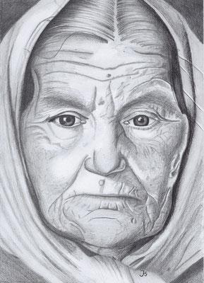 Oma - vom Leben gezeichnet  290.-€