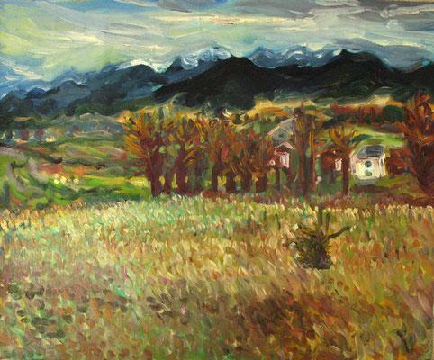 72x60cm, huile, Bulgarie, 2006