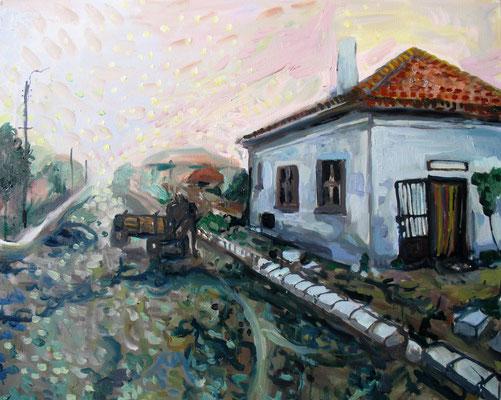 81x65cm, huile, Bulgarie, 2007