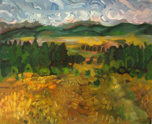 65x54cm, huile, Bulgarie, 2006