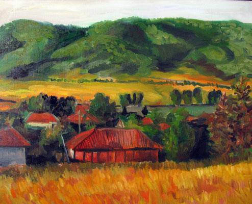 81x54cm, huile Bulgarie, 2007