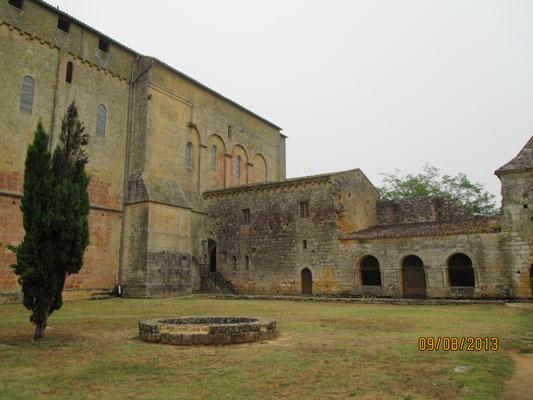 vestiges du cloître