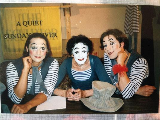 With Marcel Marceau and Thorsten Heinze