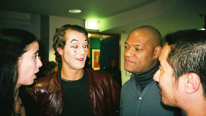2001 in Sydney with Lorenc Fishburn