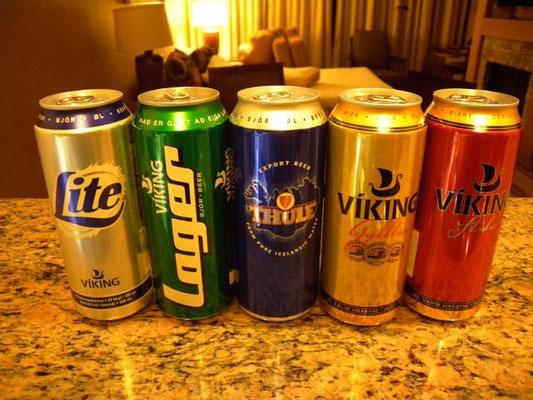 Iceland Beers 2012