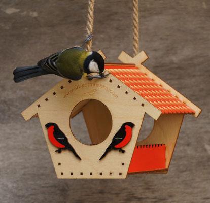 Кормушка для птиц - отличный подарок!