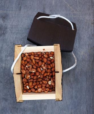 Дубль арахисовый - вид сверху