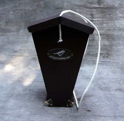 Арт-Союзная кормушка для птиц дозаторного типа
