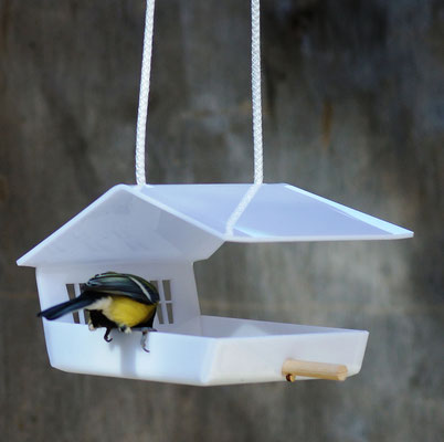 Украшение сада - кормушка для птиц