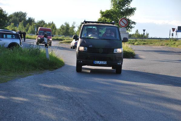 Die Begleitfahrzeuge mit freundlicher Unterstützung von Fa. Freytag - Hr. Heinrich Thies