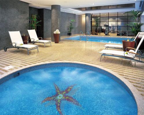 Mosaico decoro per piscina Stella Marina 1164x1164mm