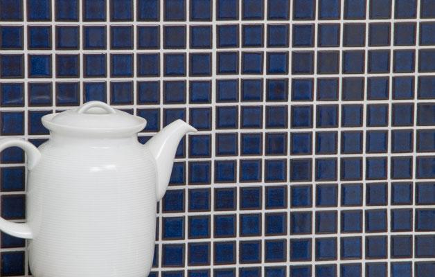Mosaico 2,5x2,5 cm Classica Cobalto Uni licido