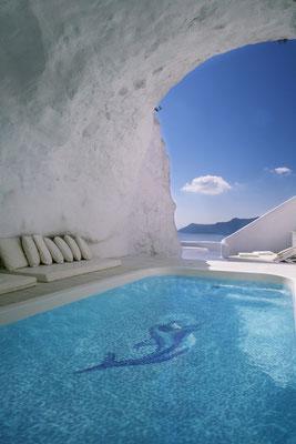 Mosaico decoro per piscina Delfino 1600x1100mm