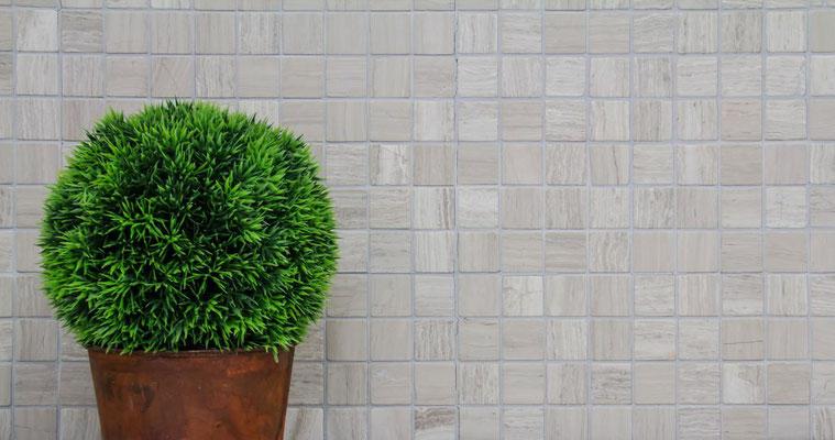 Mosaico Marmo 32mm Grigio anticato