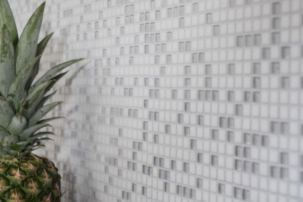 Mosaico Mos 10mm Bianco