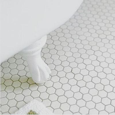 Mosaico 23x26 mm Esagoni BIANCO MAT