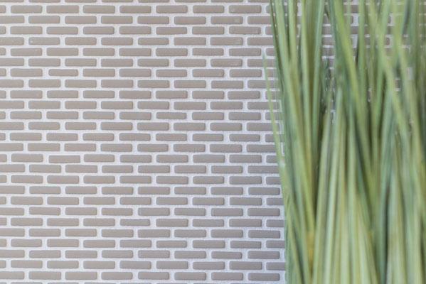 Mosaico Kuba Brick 5/20 mm Taupe
