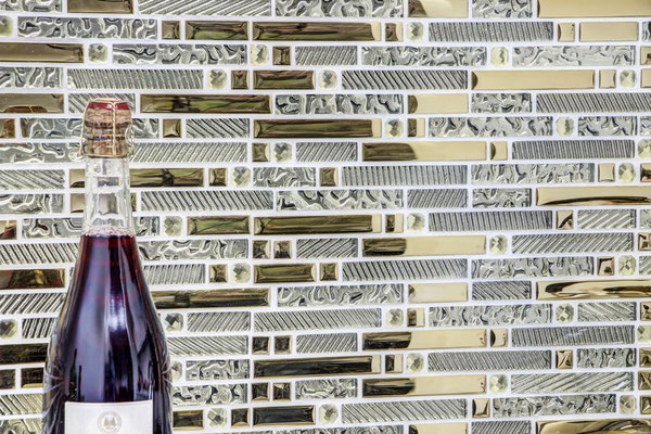Mosaico Riflessi Brick Gold